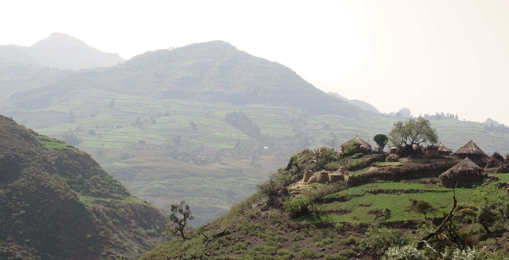 Ethiopia-Tukul-Village-Landscape