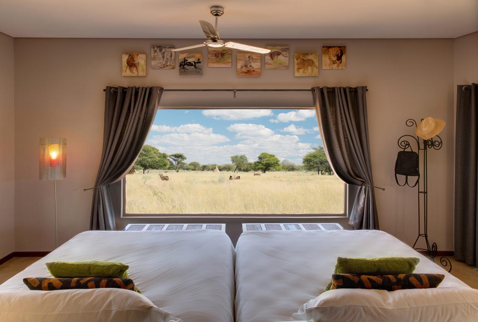 Okonjima Plains Camp Namibia Window