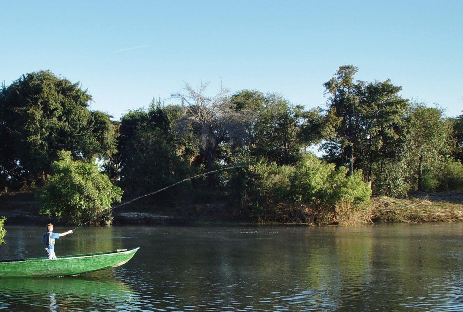 Sindabezi Island Camp activities