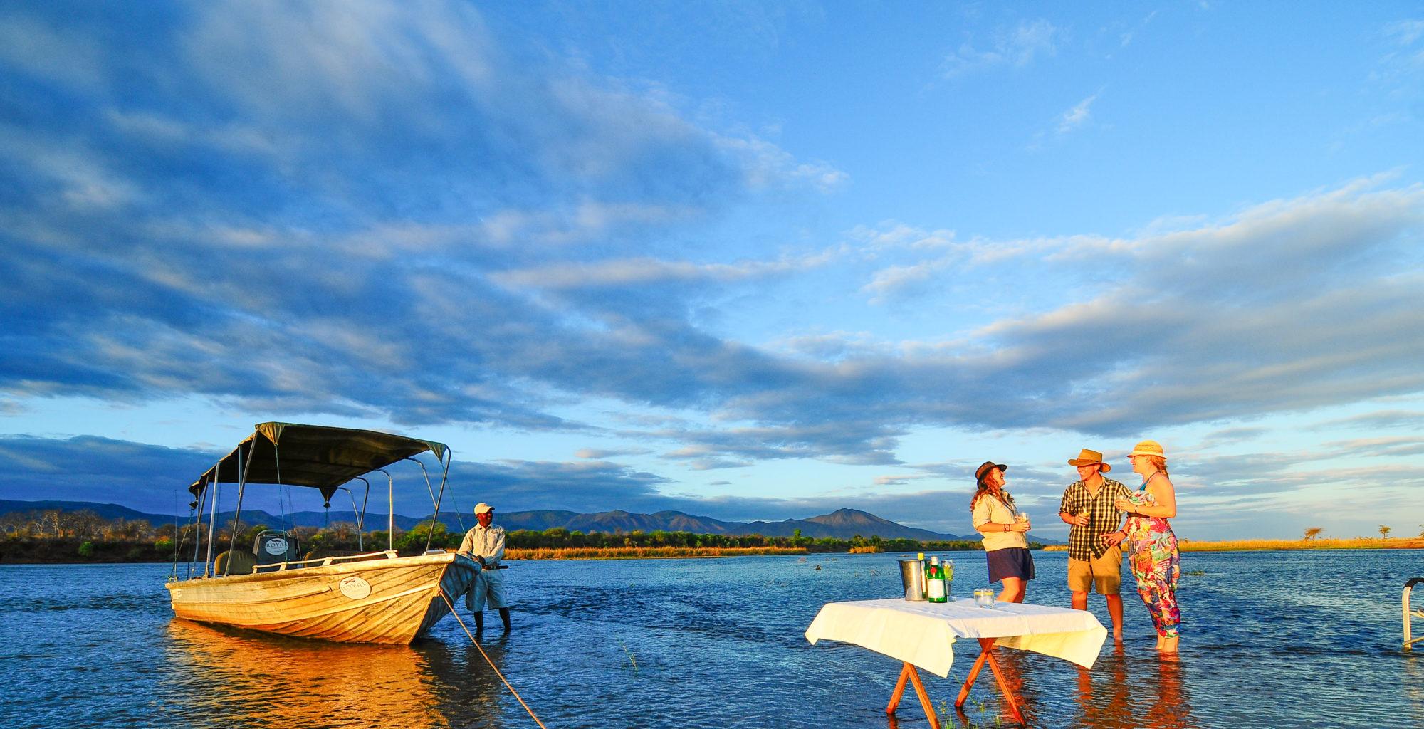 Royal Zambezi Zambia Water Sundown