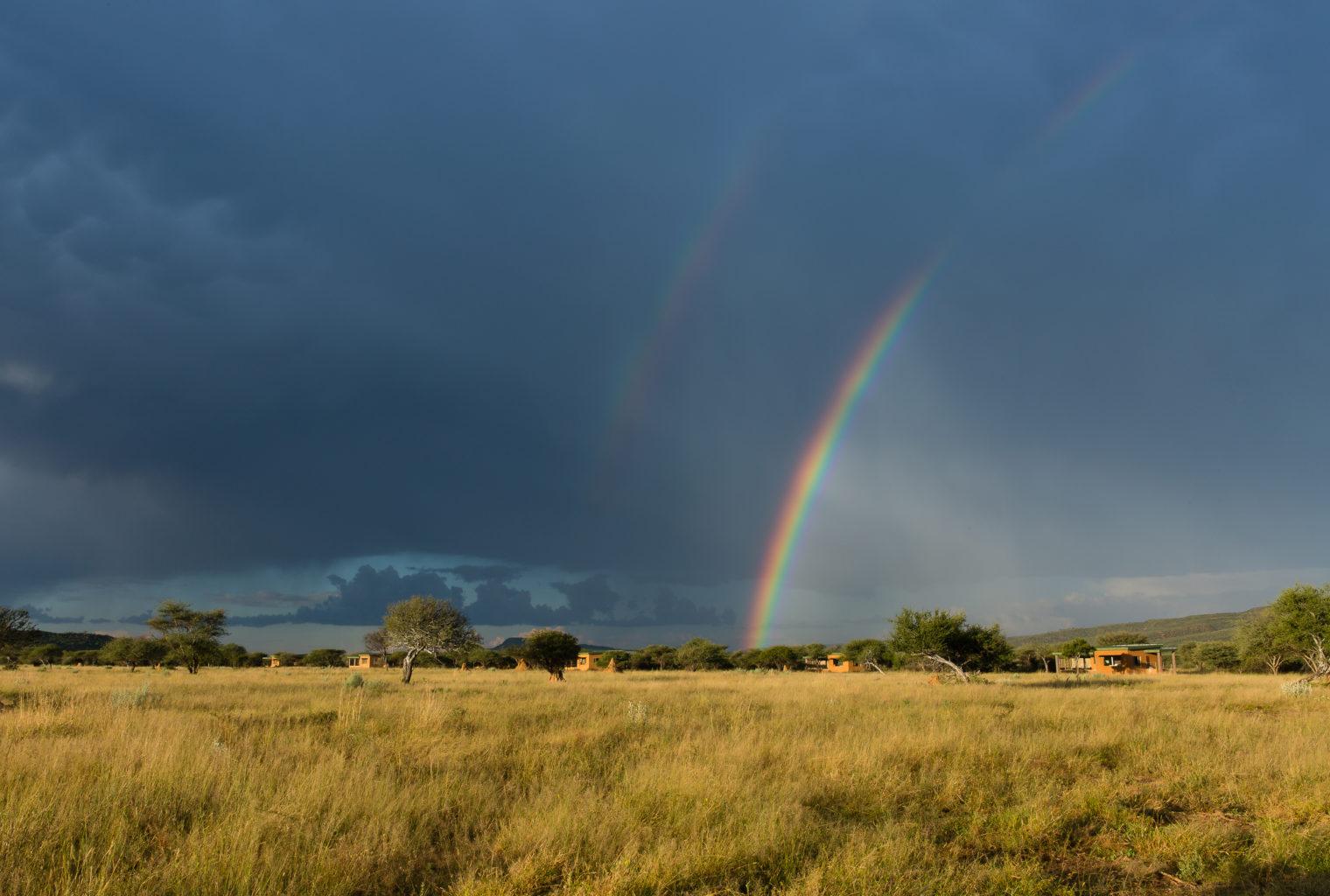 Okonjima Plains Camp Namibia Rainbow