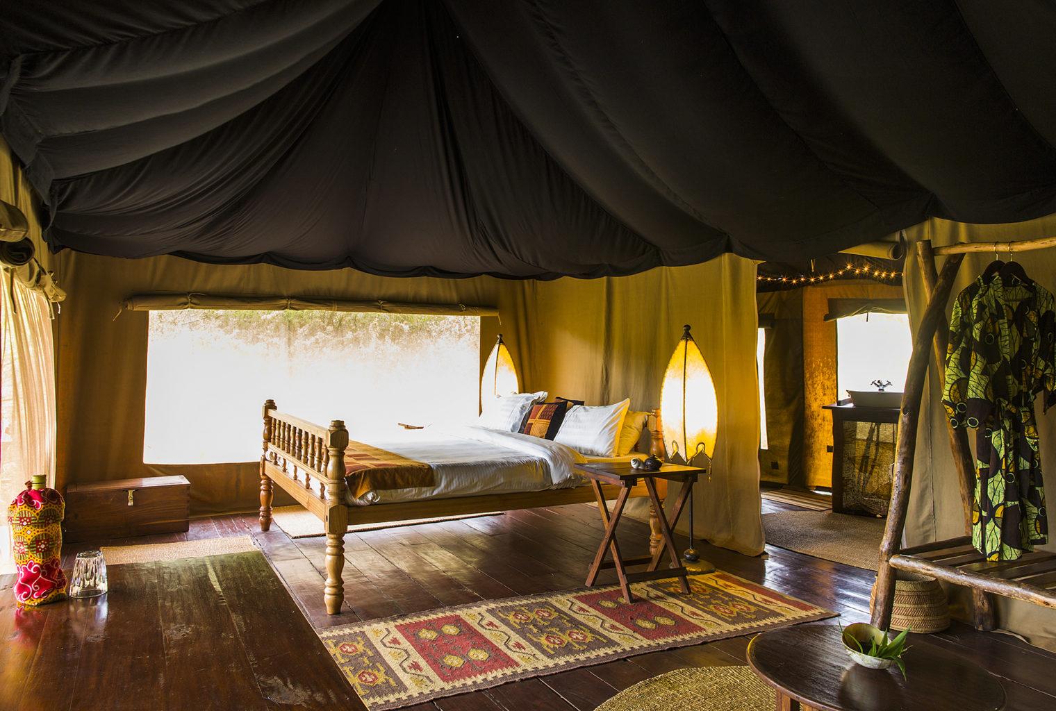 Ndarakwai Camp Tanzania Bed
