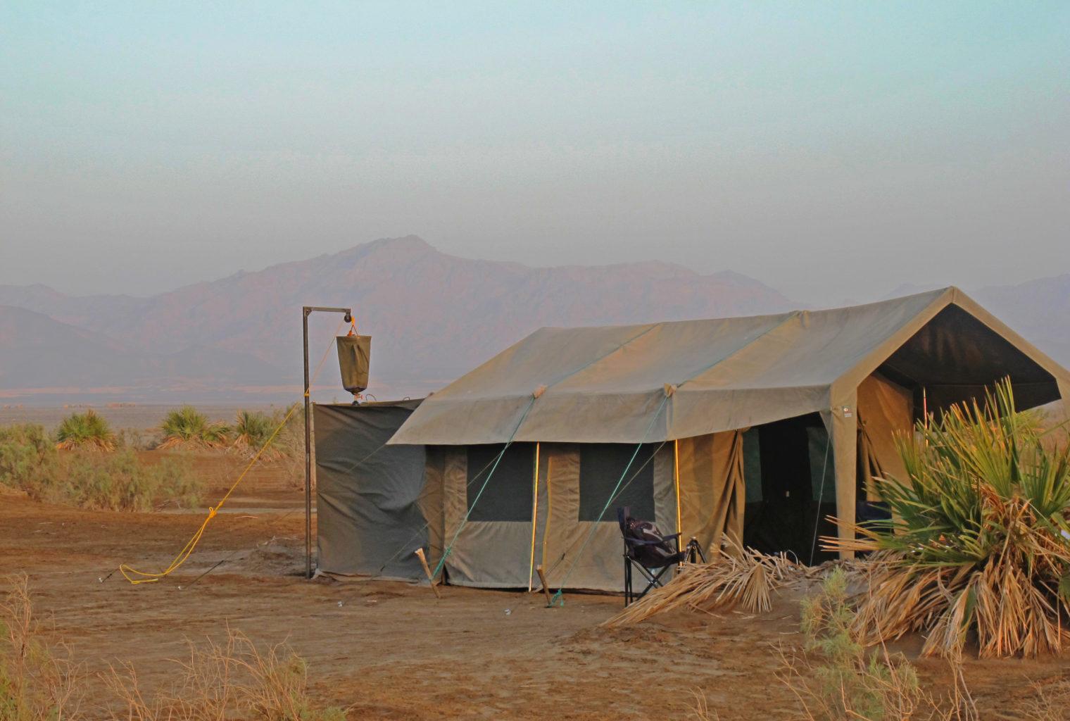 Danakil Ethiopia-Tent