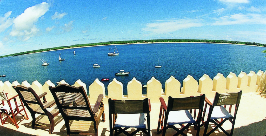 Lamu Island, view of sea from Shela Village