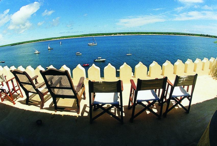 Lamu Island, view of sea from Shela Village