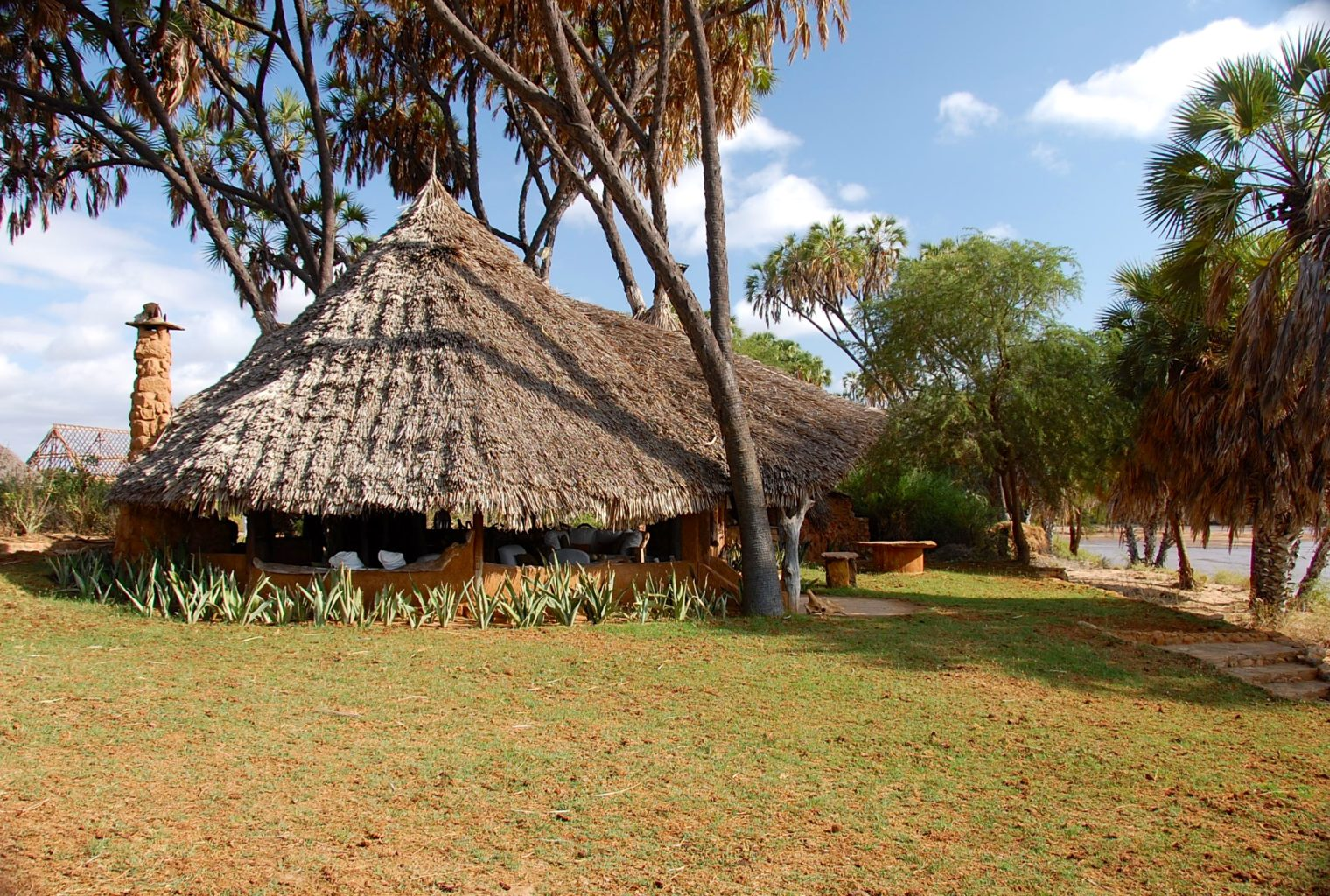 Galdessa, Kenya, Exterior Tent