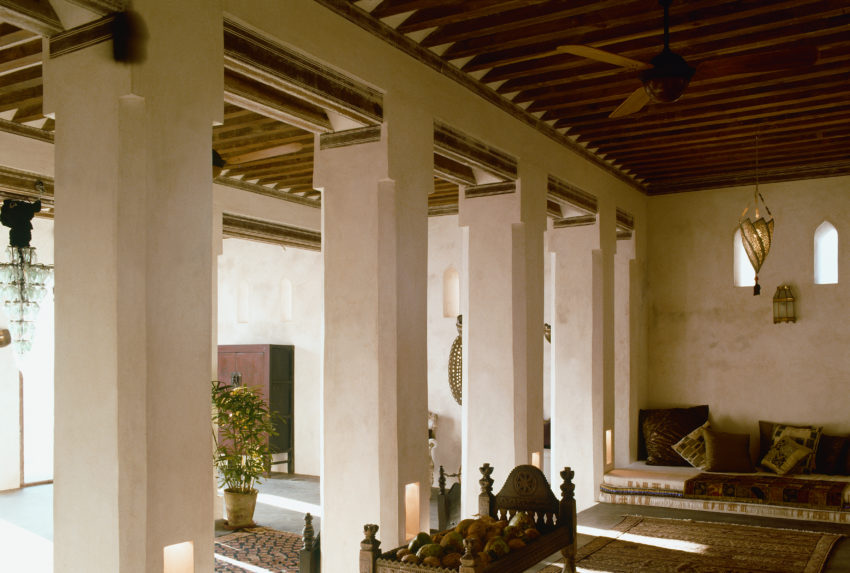 Dhow House Lounge Area