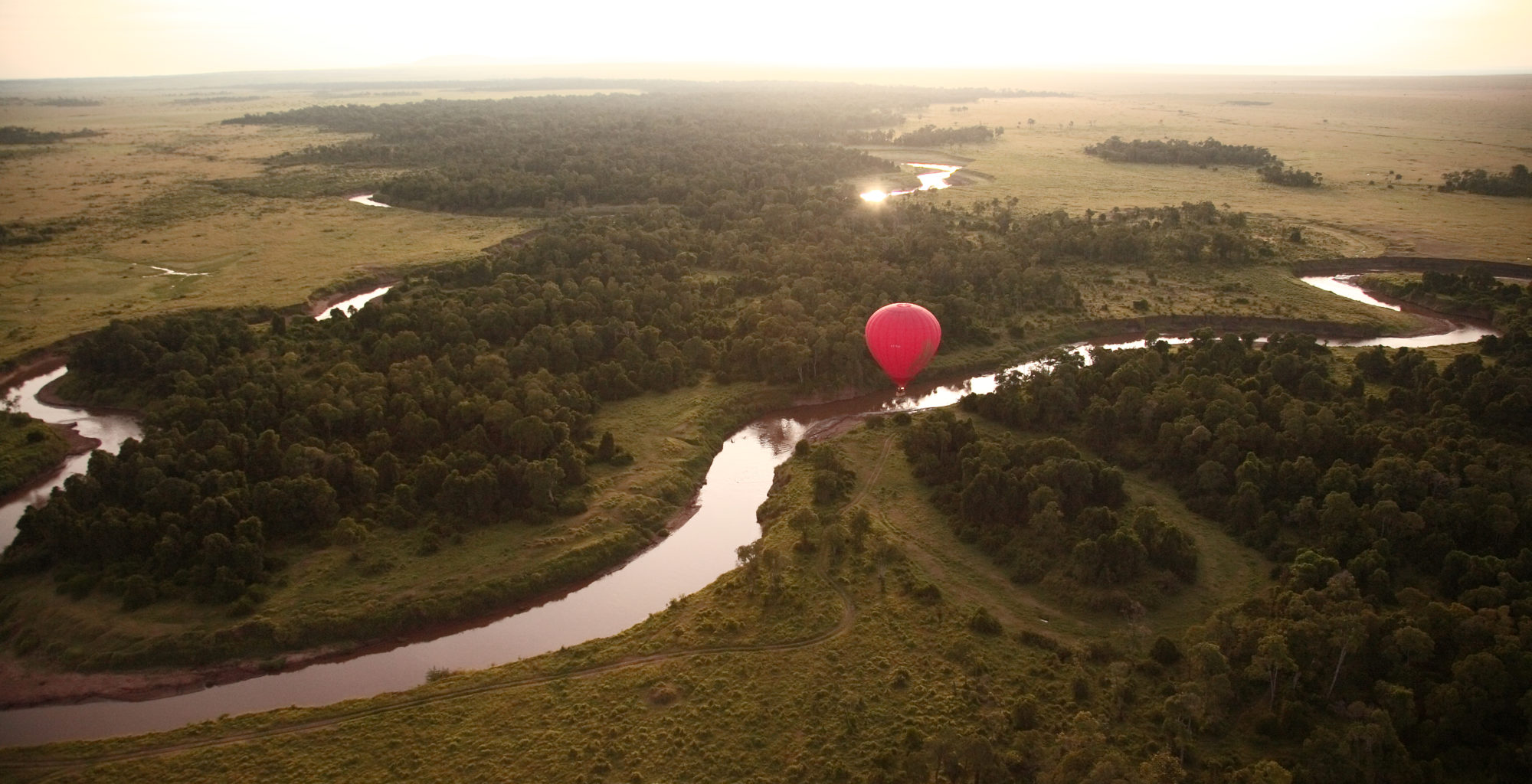 Olarro Balloon over River