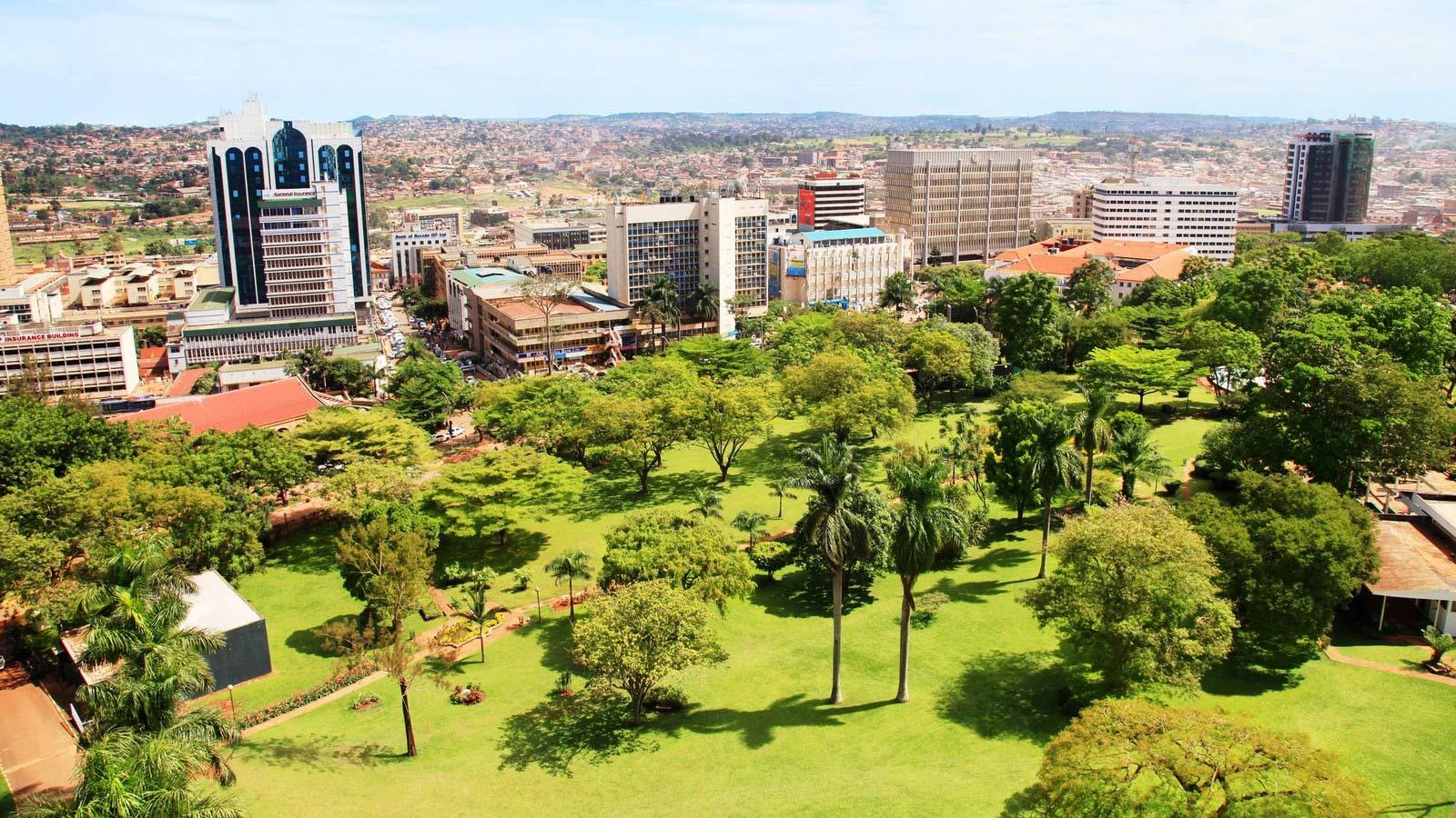 Kampala Sheraton Uganda City View