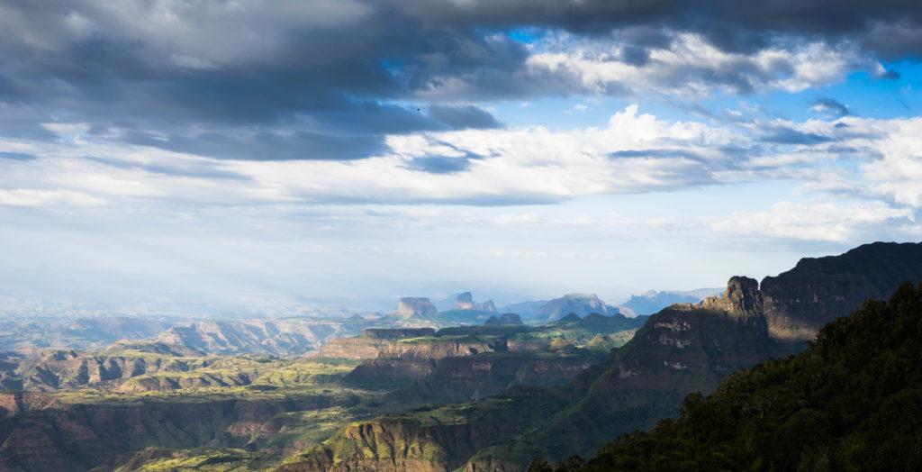 Simien Mountains by Paul Callcutt
