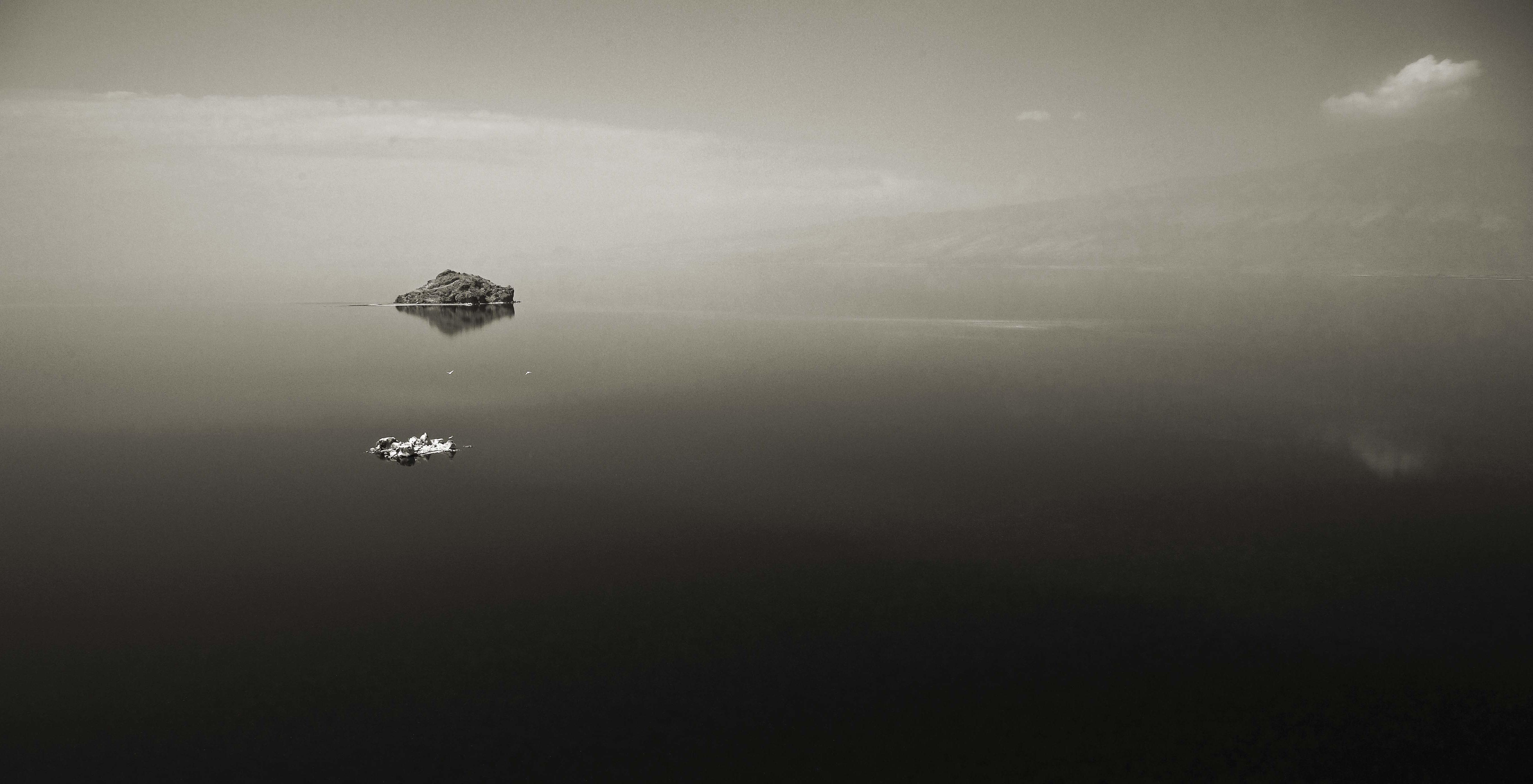 Lake at Lengai by Stevie Mann