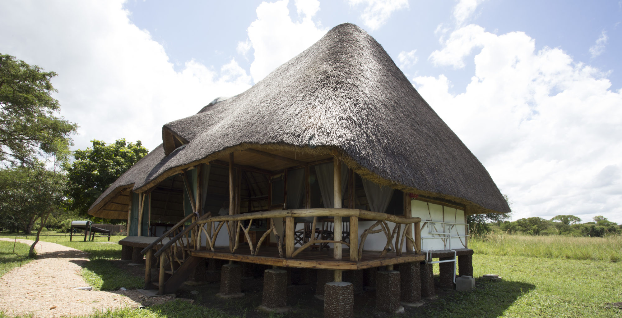 Bakers lodge Uganda Exterior