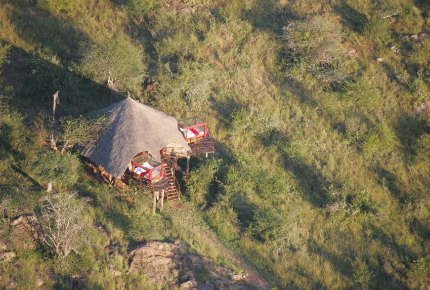 Loisaba Star Beds Kenya Exterior AErial
