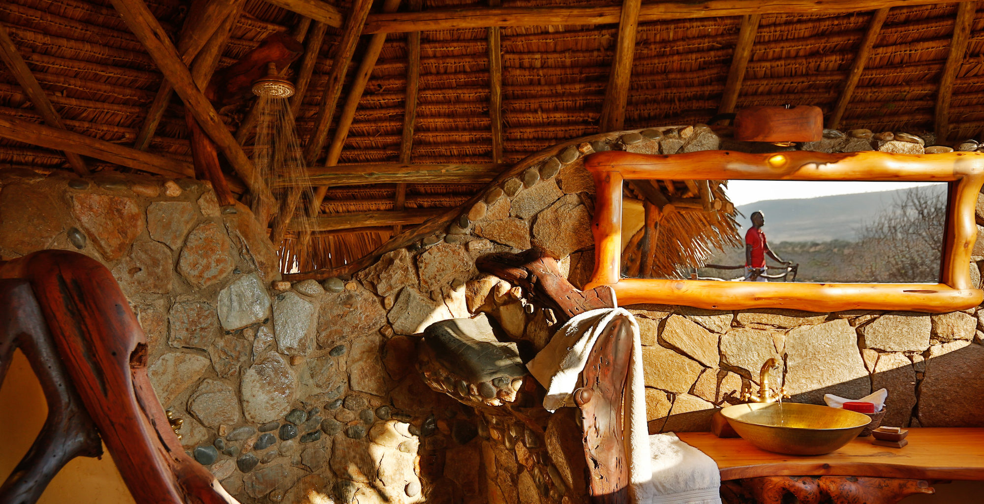 Loisaba Star Beds Kenya Bathroo