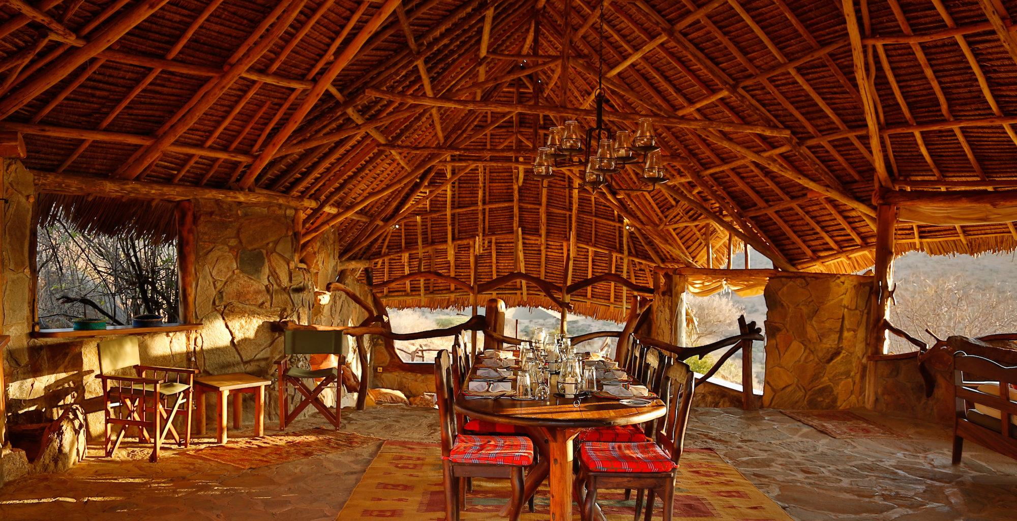 Loisaba Star Beds Kenya Lounge