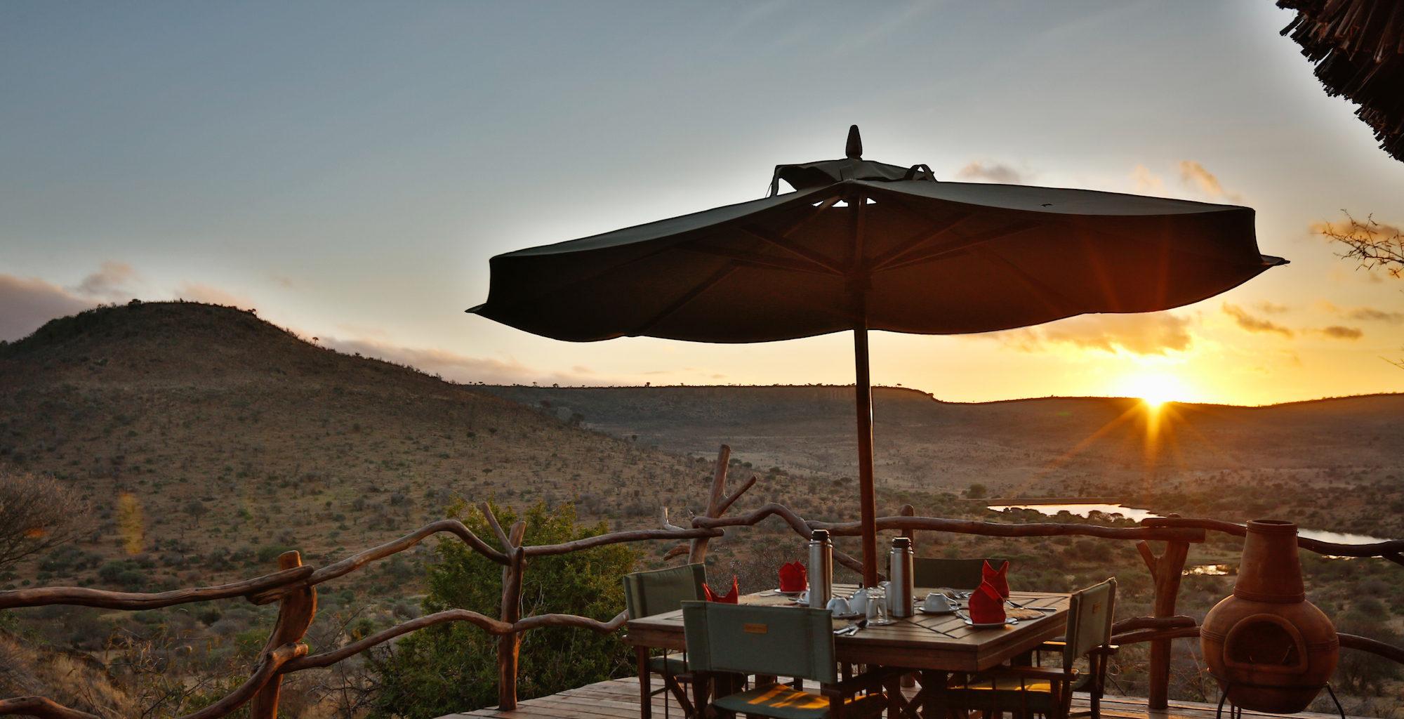 Loisaba Star Beds Kenya Deck