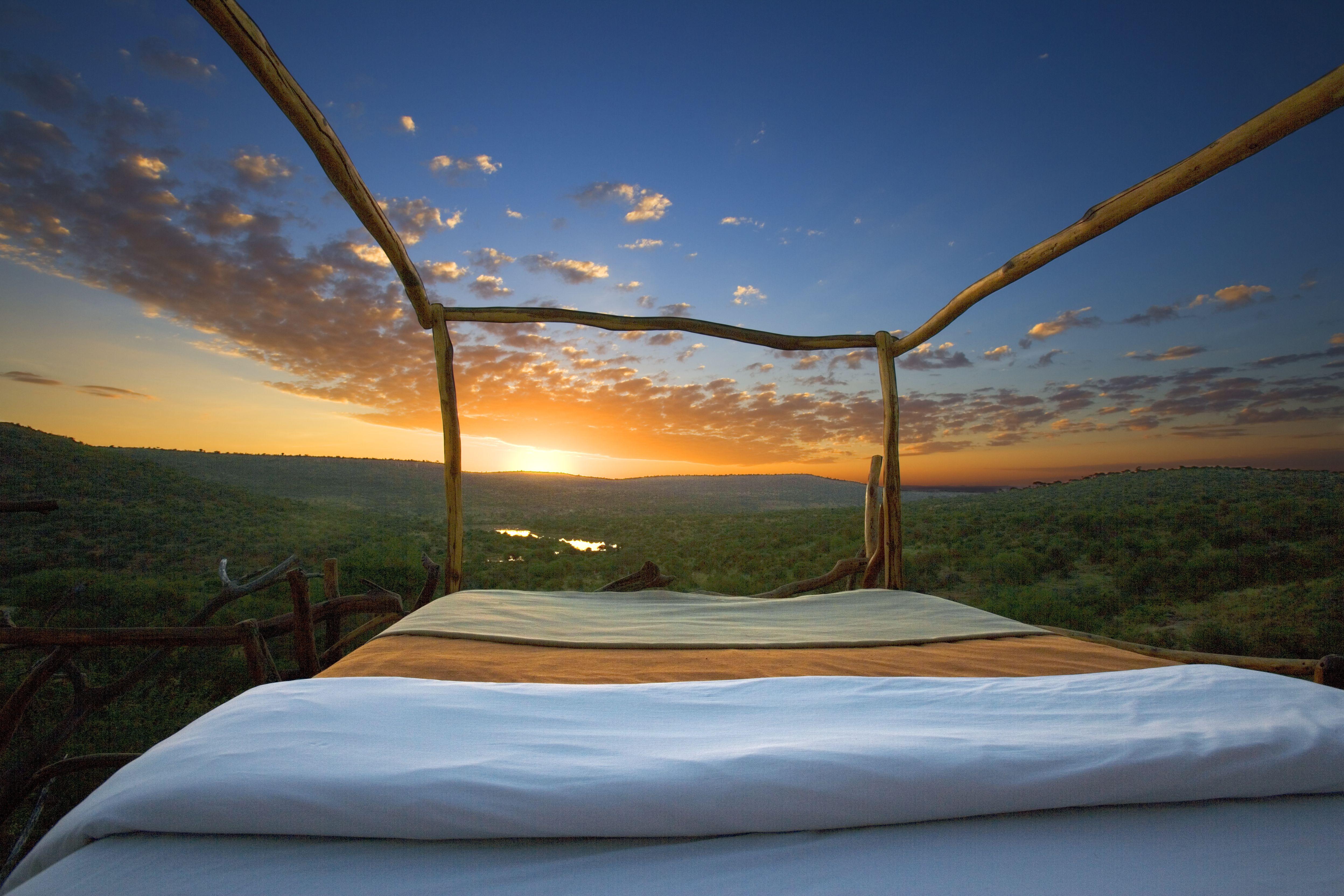 Loisaba Star Beds Kenya Exterior