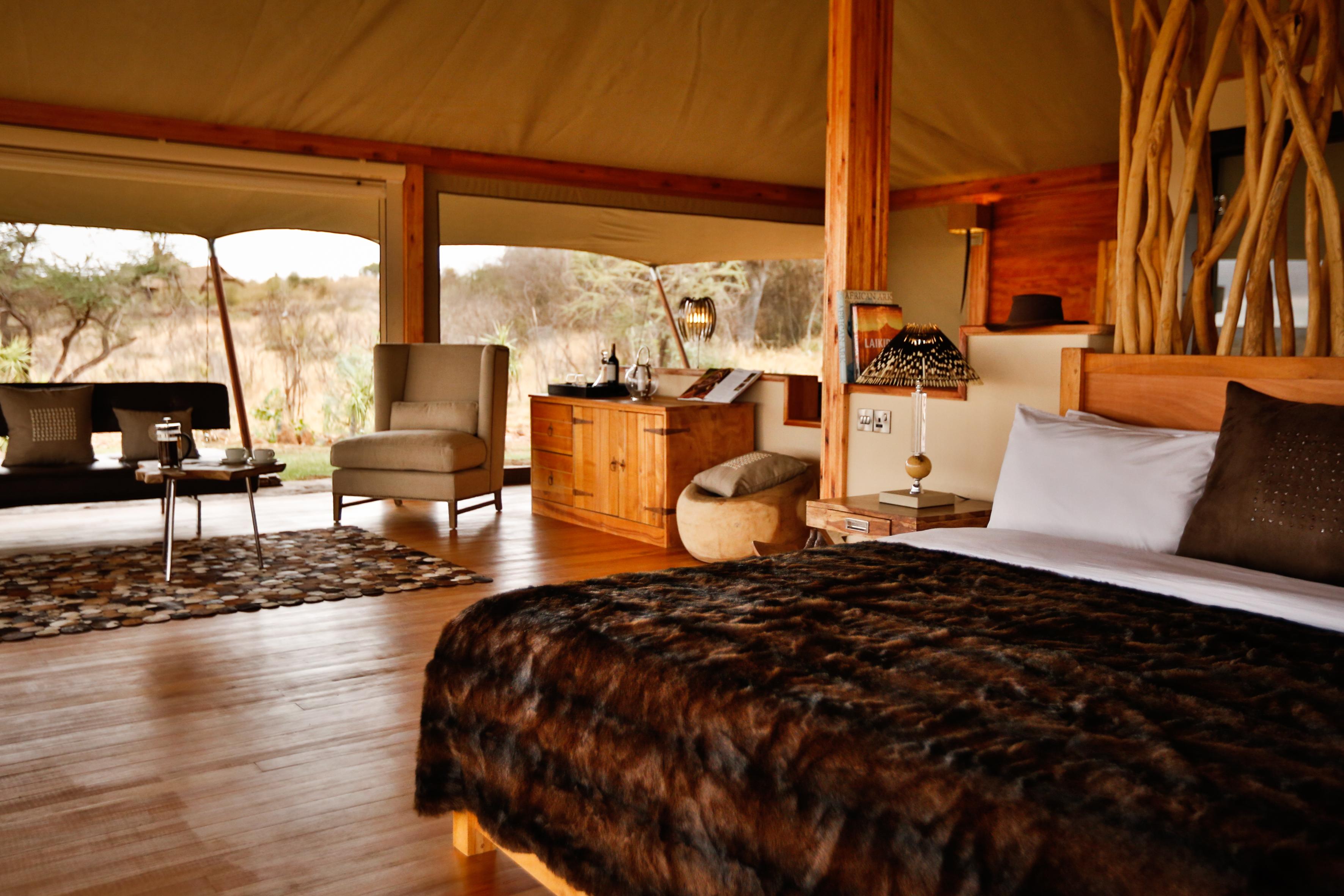 Loisaba Tented Camp Kenya Bedroom