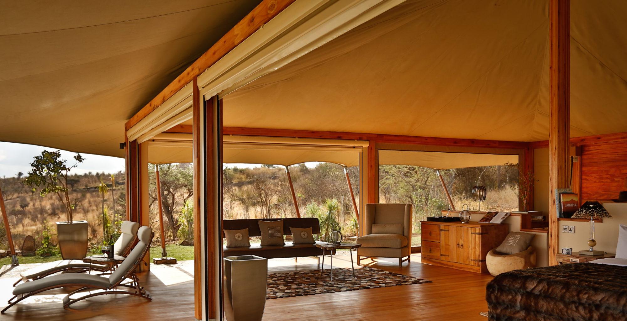 Loisaba Tented Camp Kenya Lounge