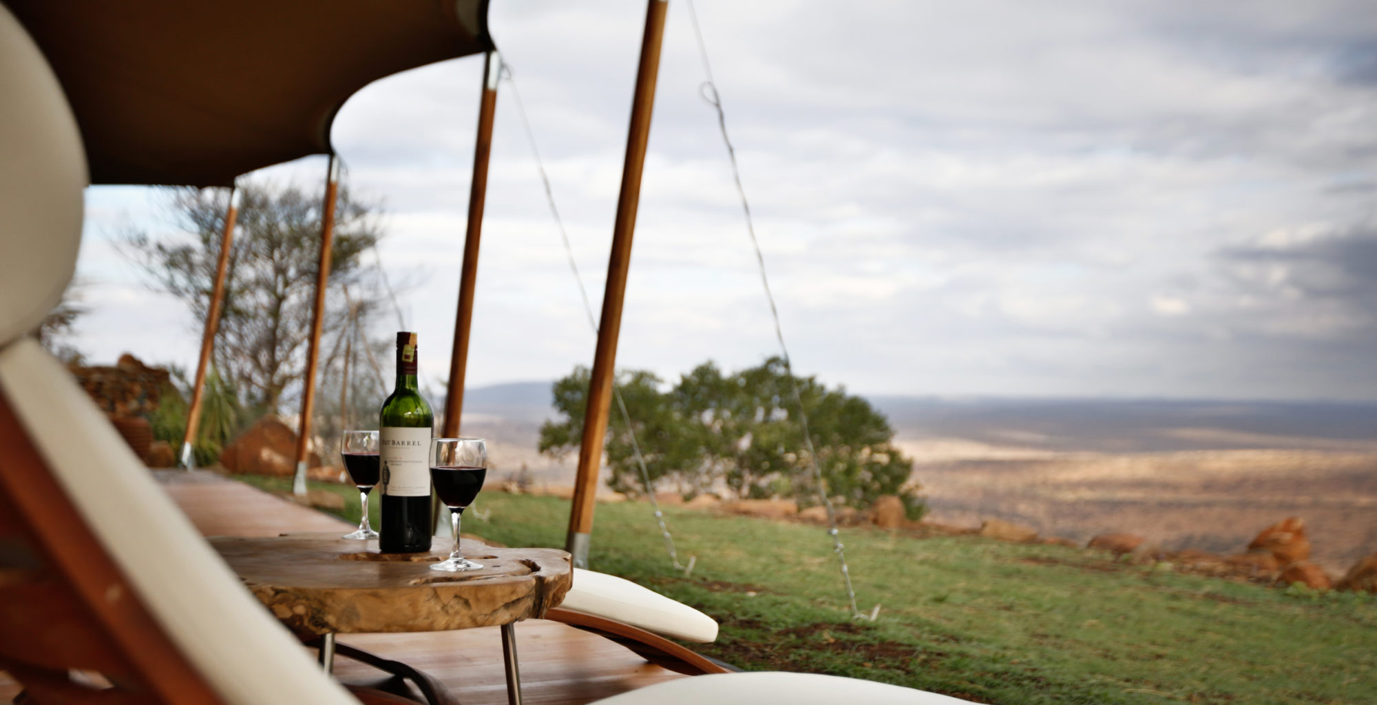 Loisaba Tented Camp Kenya Deck