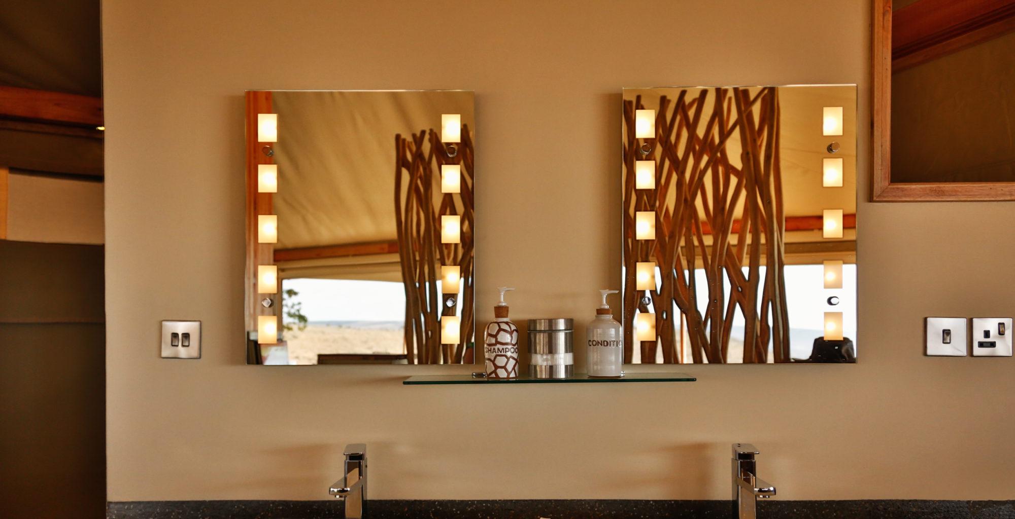 Loisaba Tented Camp Kenya Bathroom