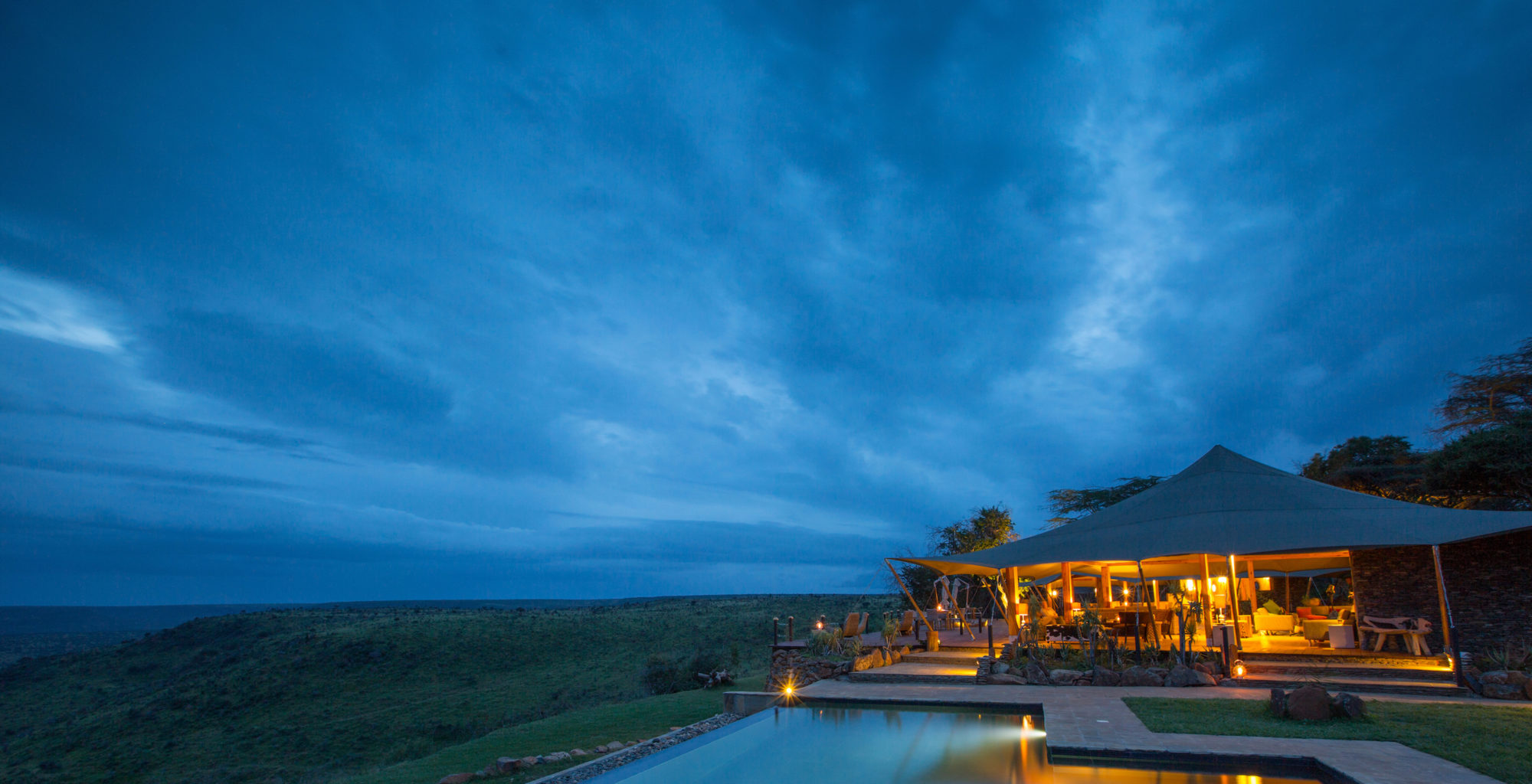 Loisaba Tented Camp Kenya Pool Exterior