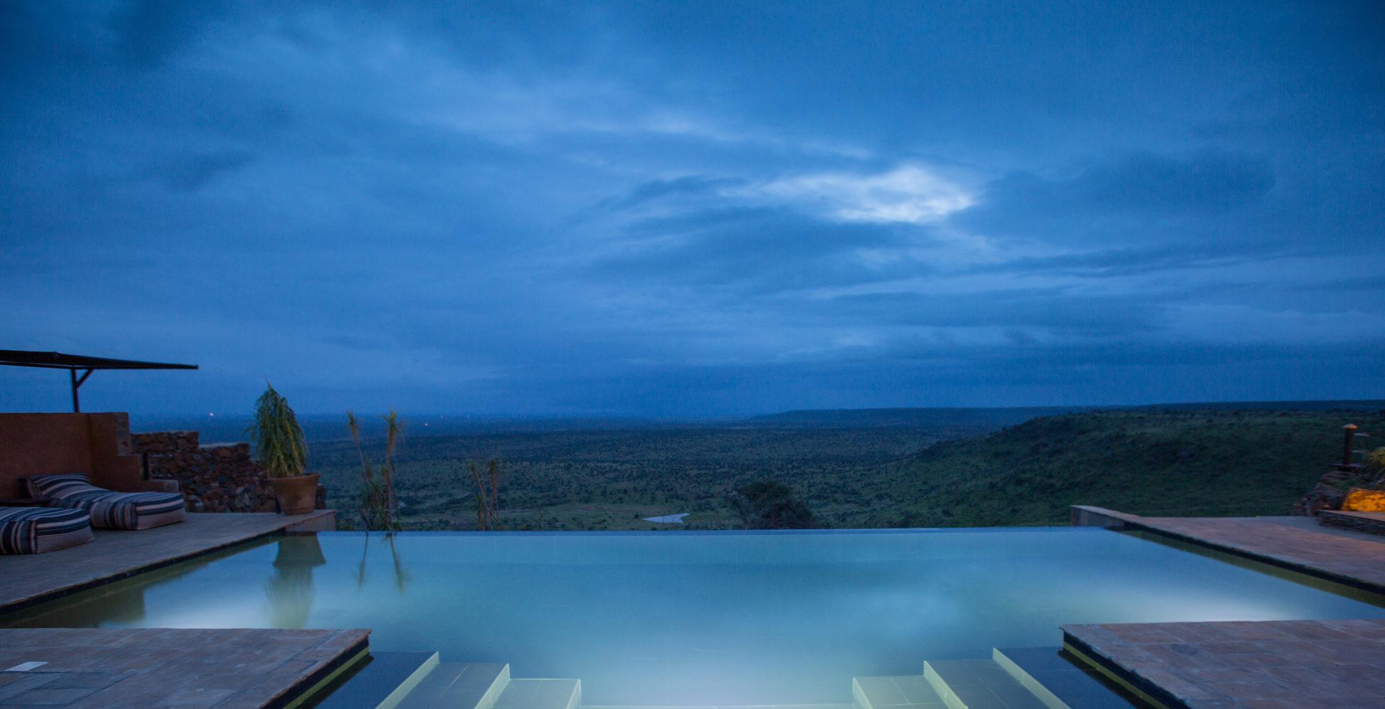 Loisaba Tented Camp Kenya Pool