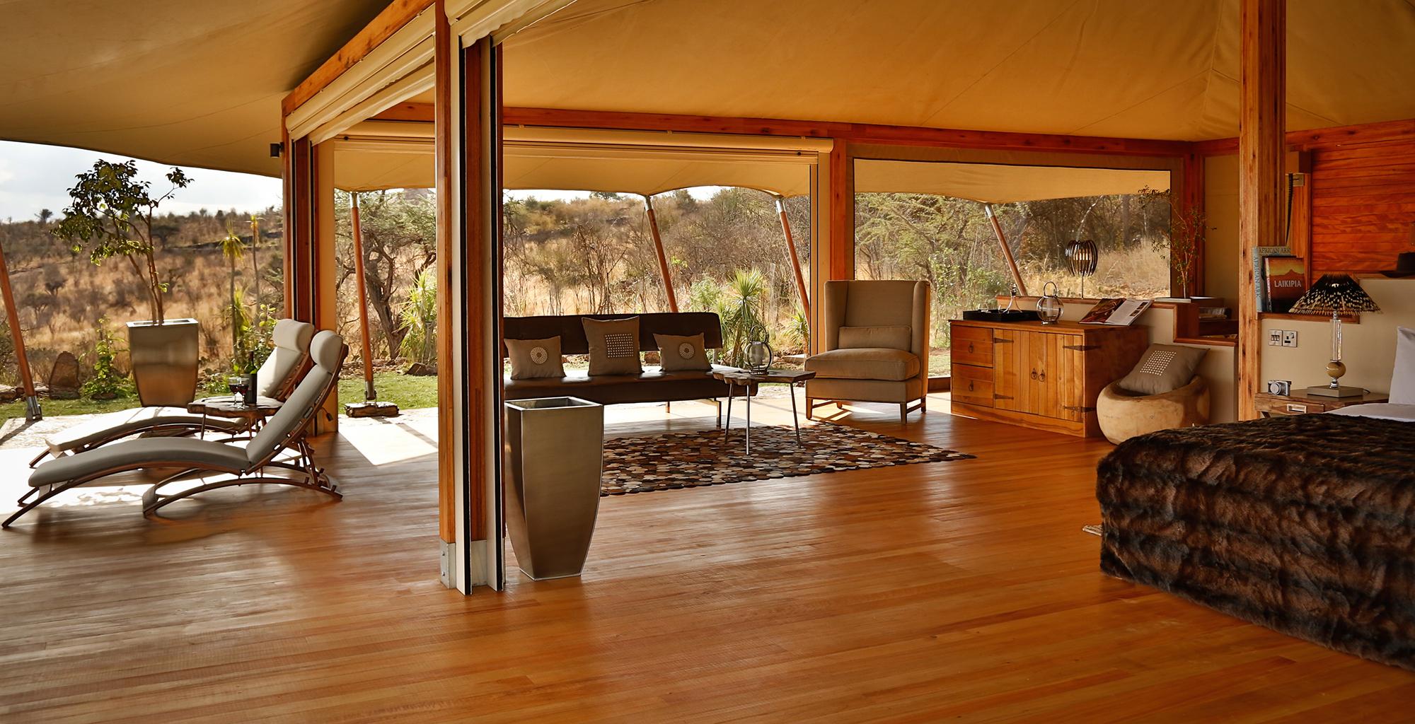 Kenya-Loisaba-Tented-Camp-Bedroom