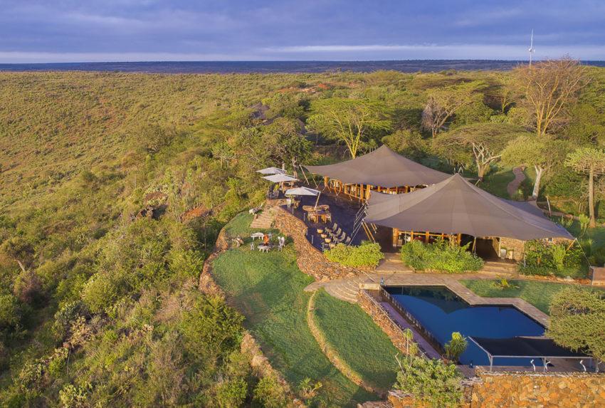 Kenya-Loisaba-Tented-Camp-Aerial