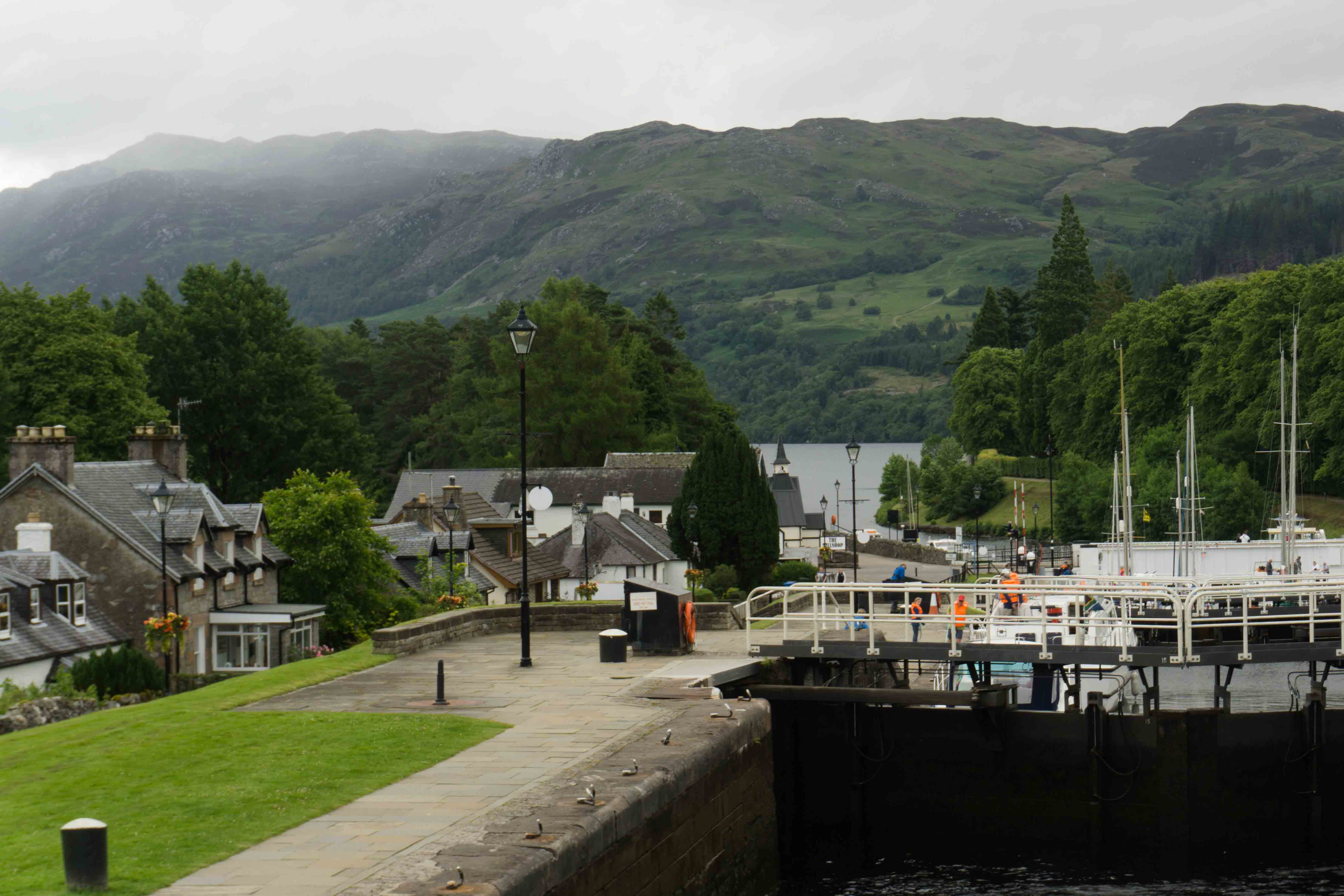 Fort Augustus towards Loch Ness