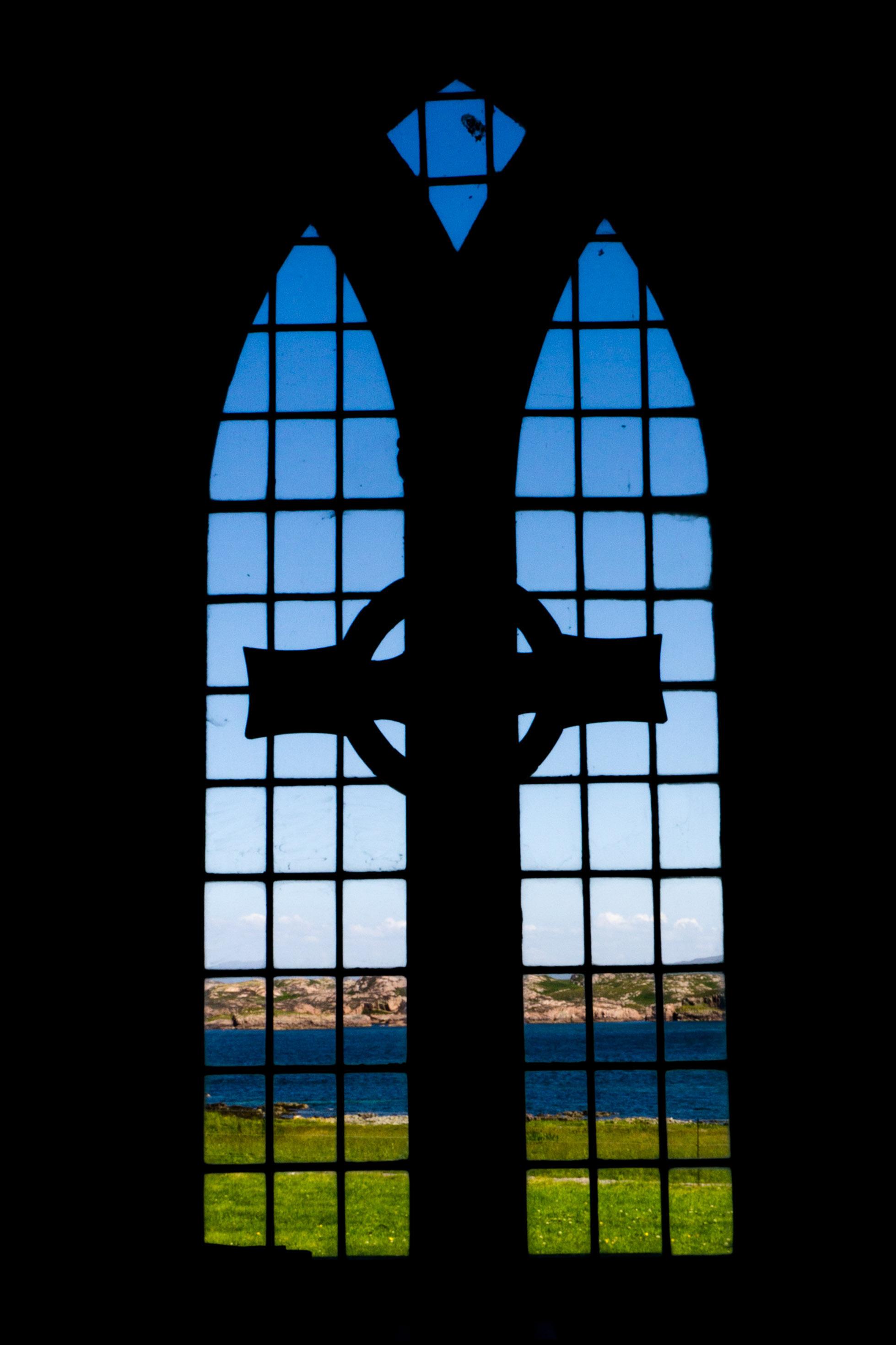Chapel on Iona near Iona Abbey