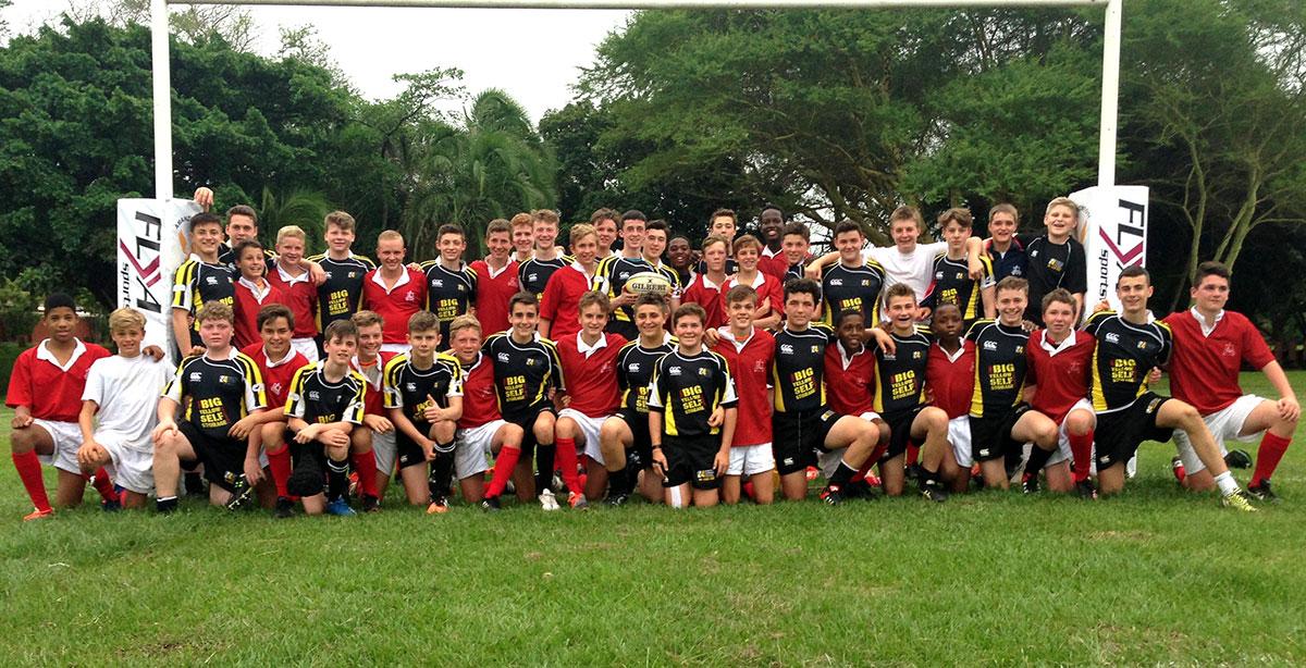 Dorothy Stringer Rugby Tour team photo