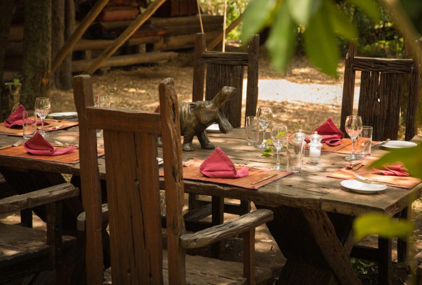 Mara Expedition Camp Dining