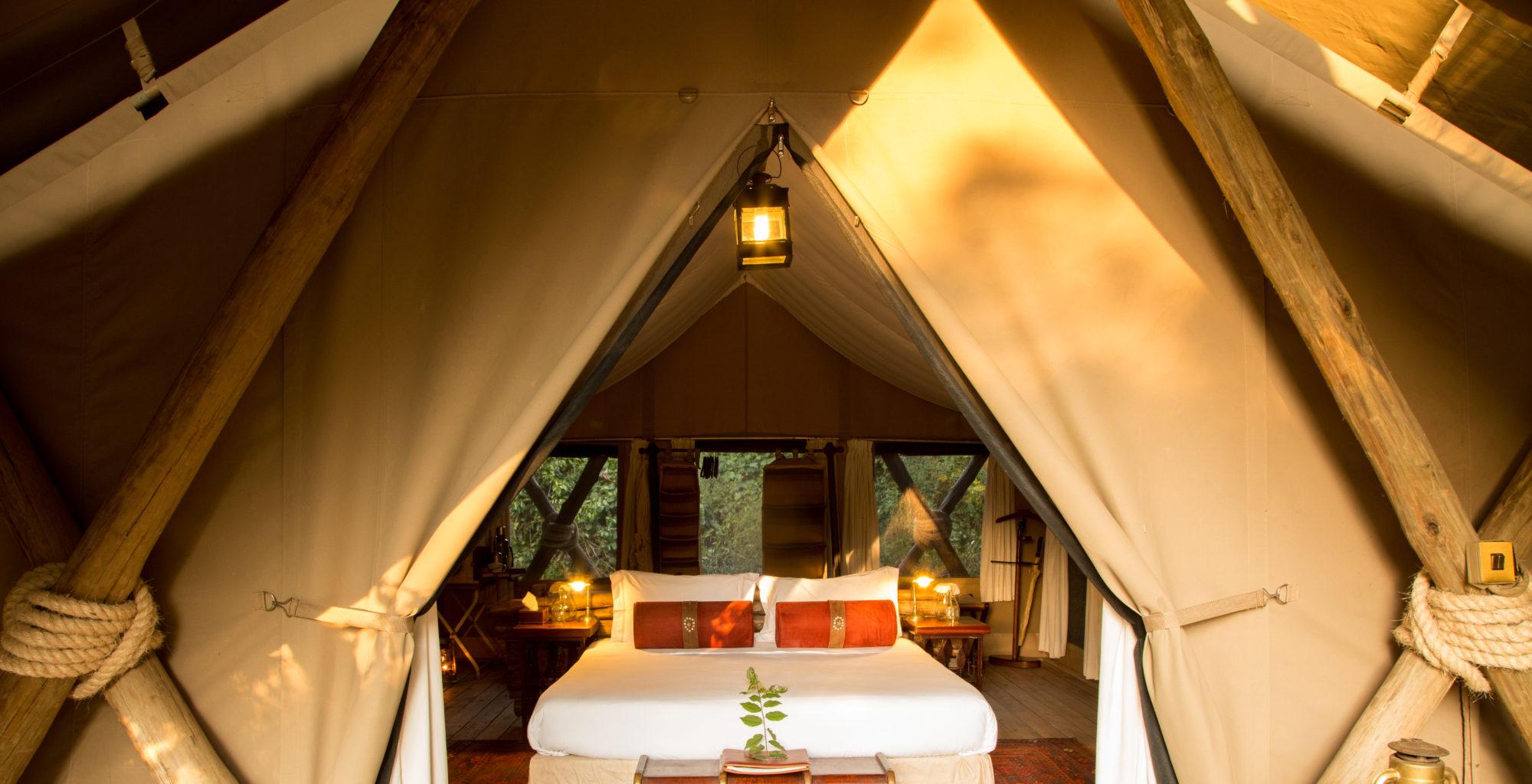 Mara Expedition Camp Bedroom Kenya