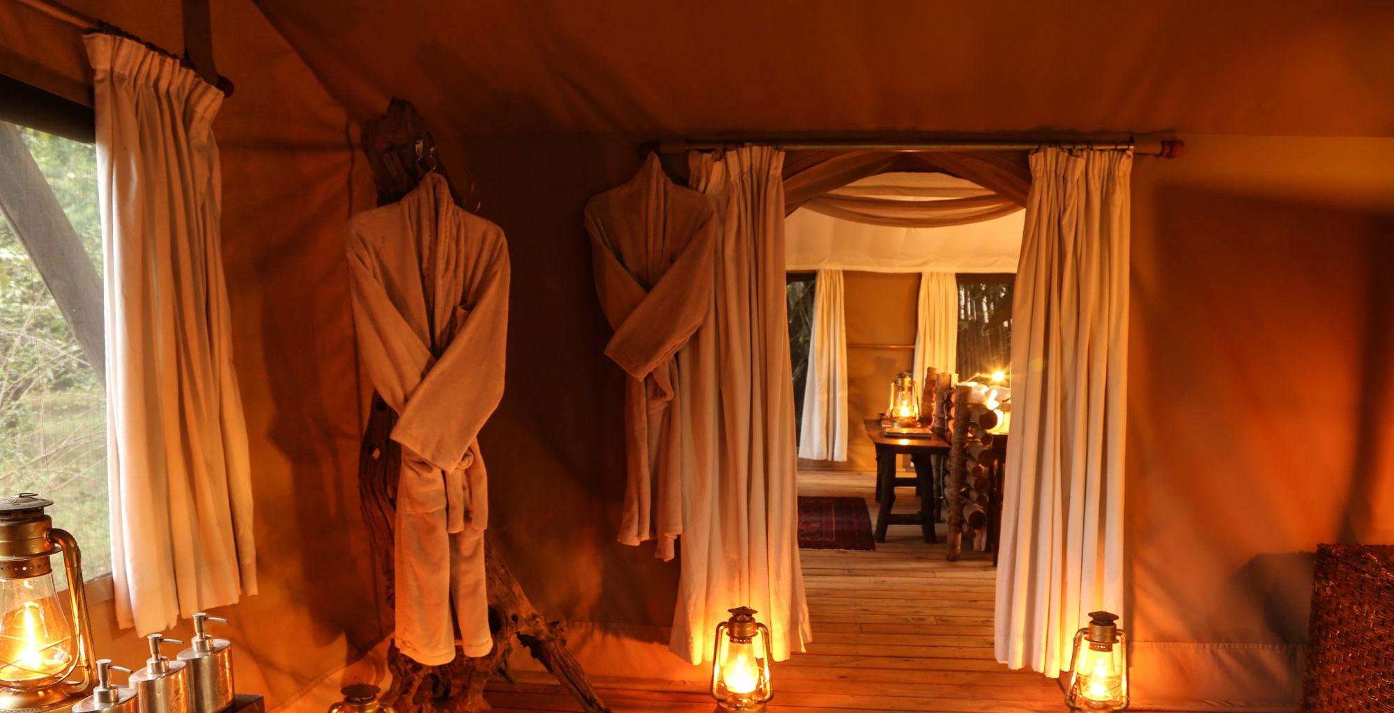 Mara Expedition Camp Bathroom Kenya
