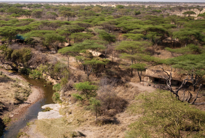 Tanzania-Mbonno-Tented-Aerial