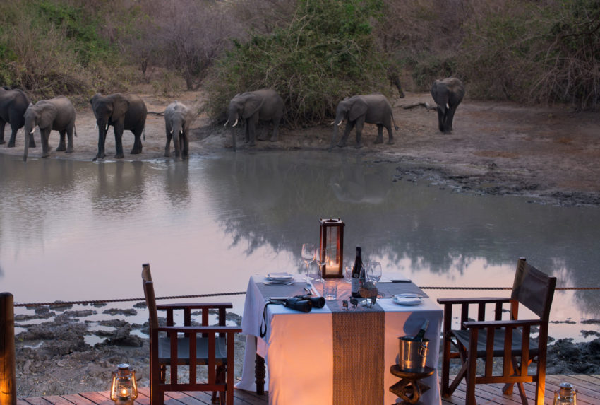 Kanga-Camp-Waterhole-Romantic-Dinner-Zimbabwe