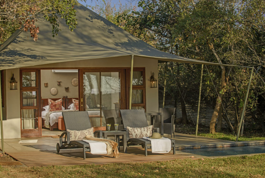 Savanna Private Game Reserve South Africa Pool Exterior