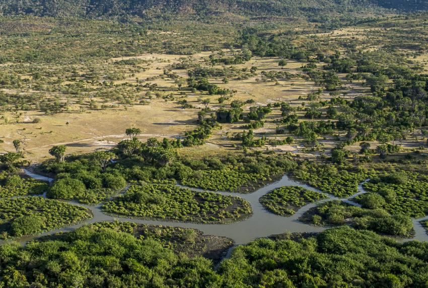 Tanzania-Roho-Selous-Aerial