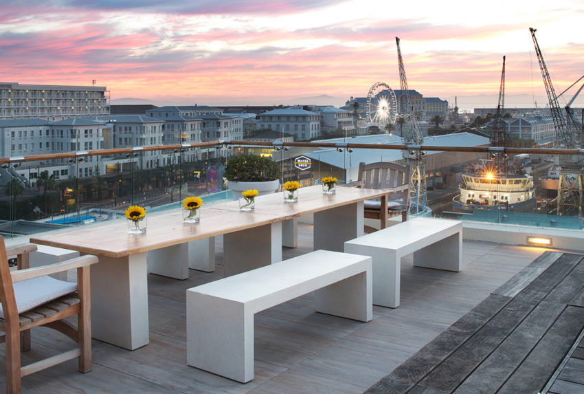 The One Above Roof Deck Cape Town
