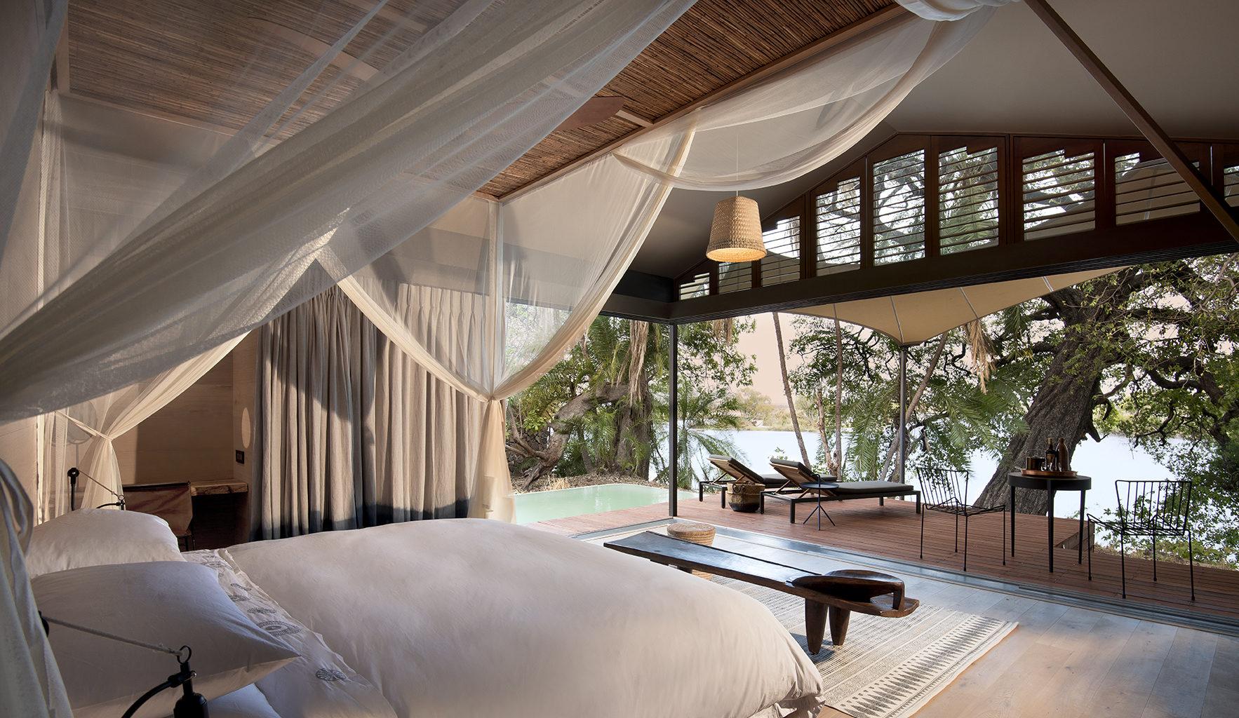 Thorntree River Lodge Zambia Bedroom