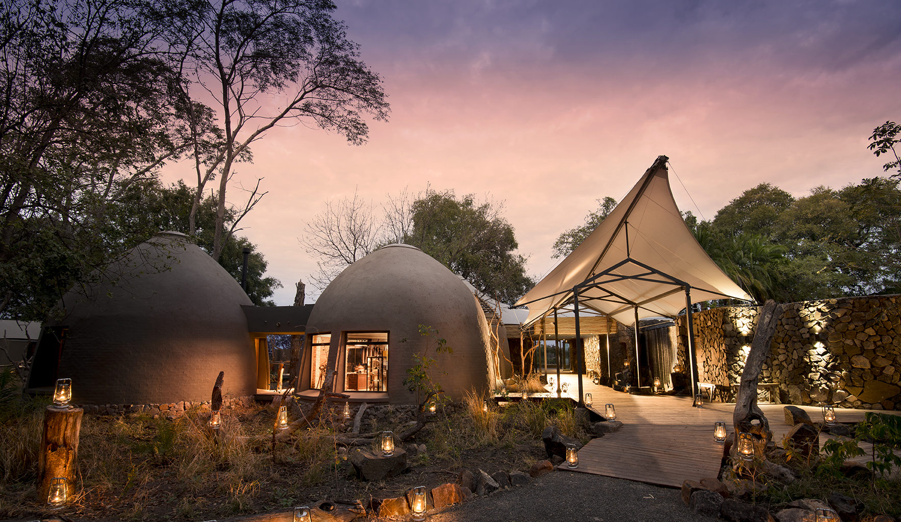 Thorntree River Lodge Zambia Exterior