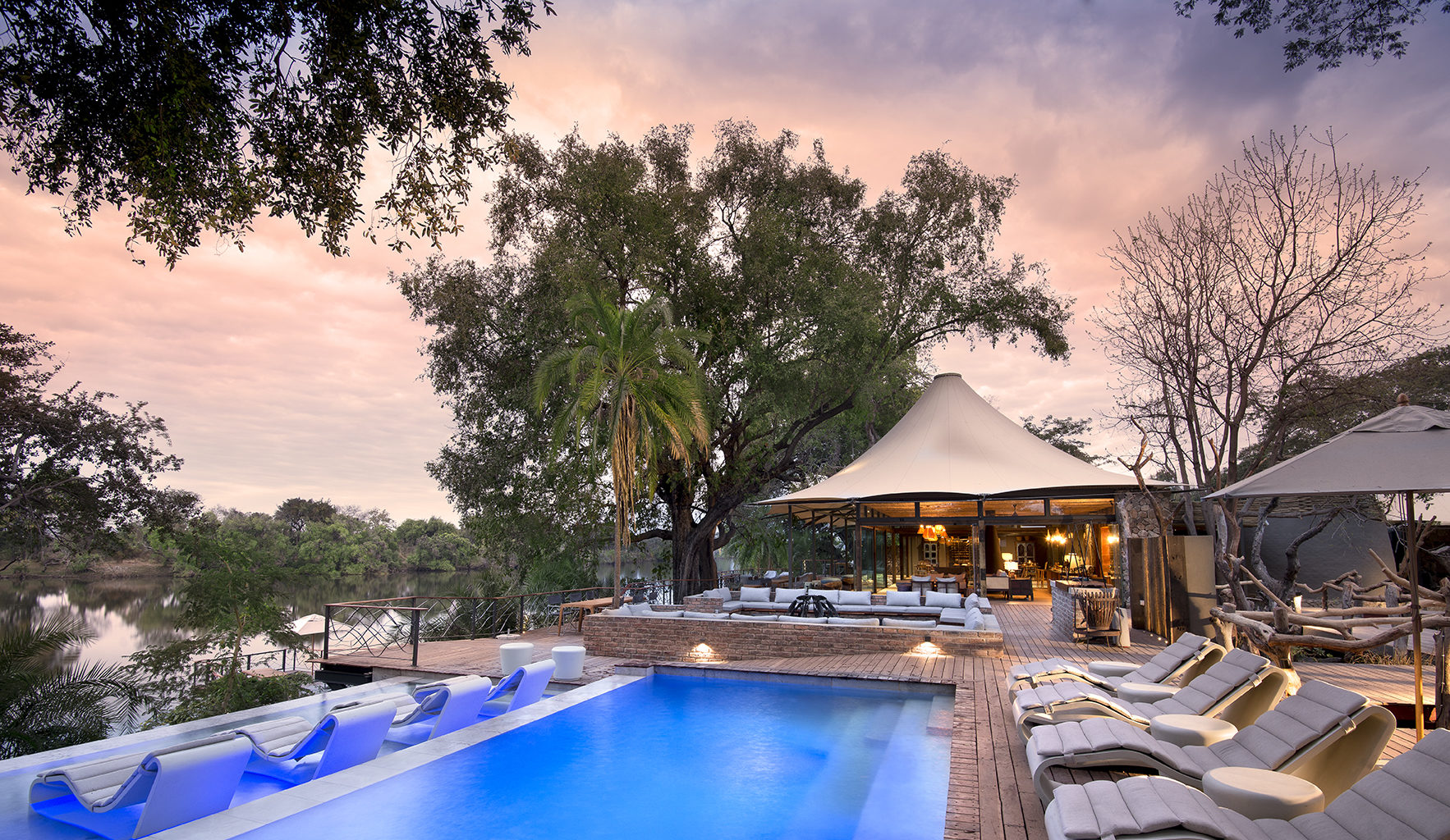Thorntree River Lodge Zambia Pool