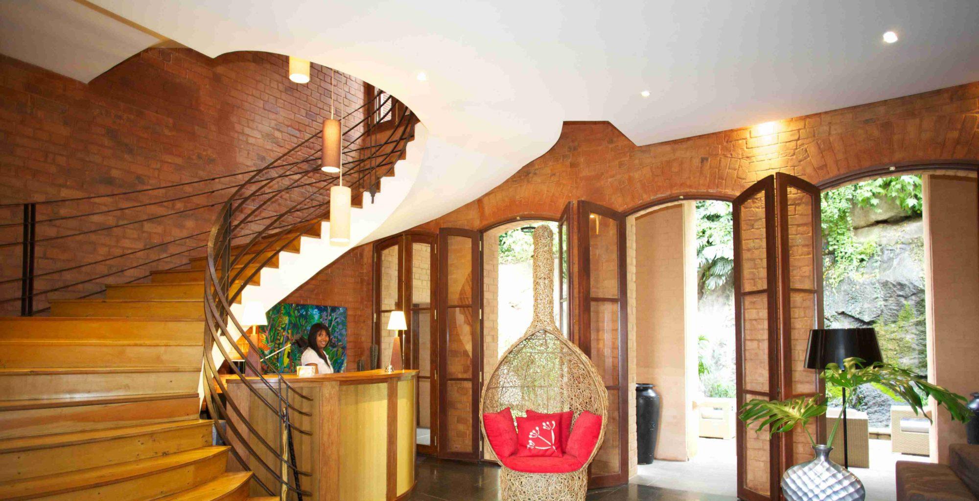 Maison Gallieni Madagascar Living Room