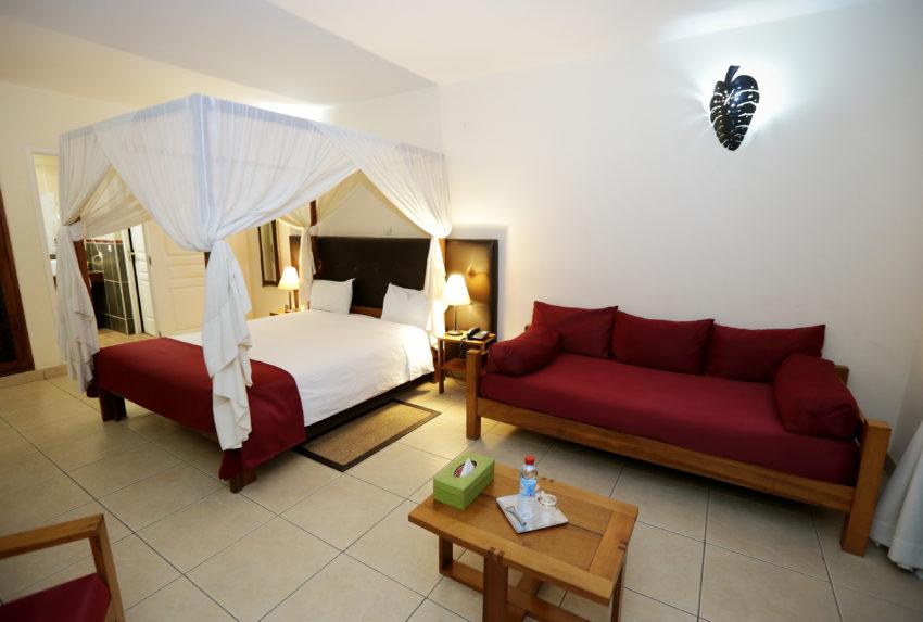 Relais des Plateaux Central Madagascar Bedroom