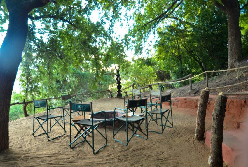 Mandrare River Lodge Madagascar South Chairs