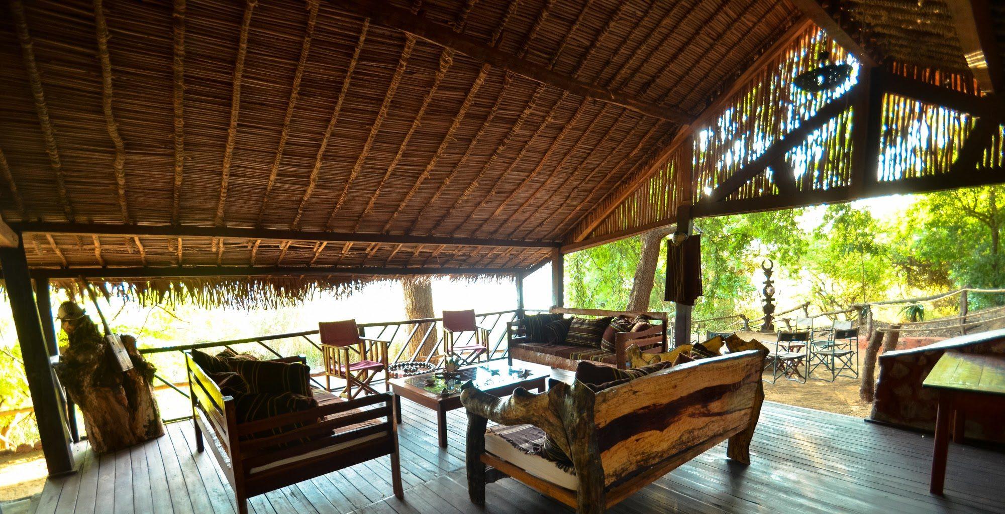 Mandrare River Lodge Madagascar South Lounge