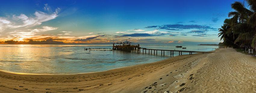 Sunset ponton