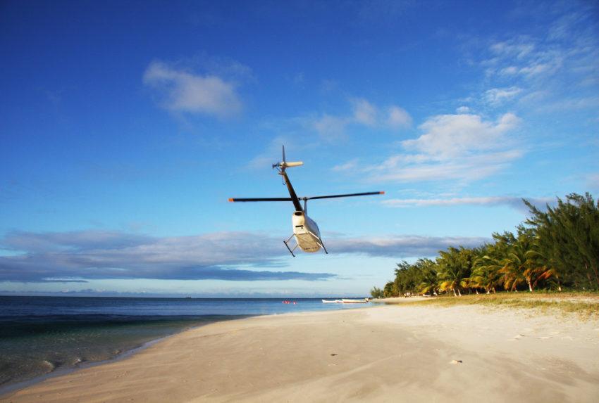 Madagascar Heli Landscape