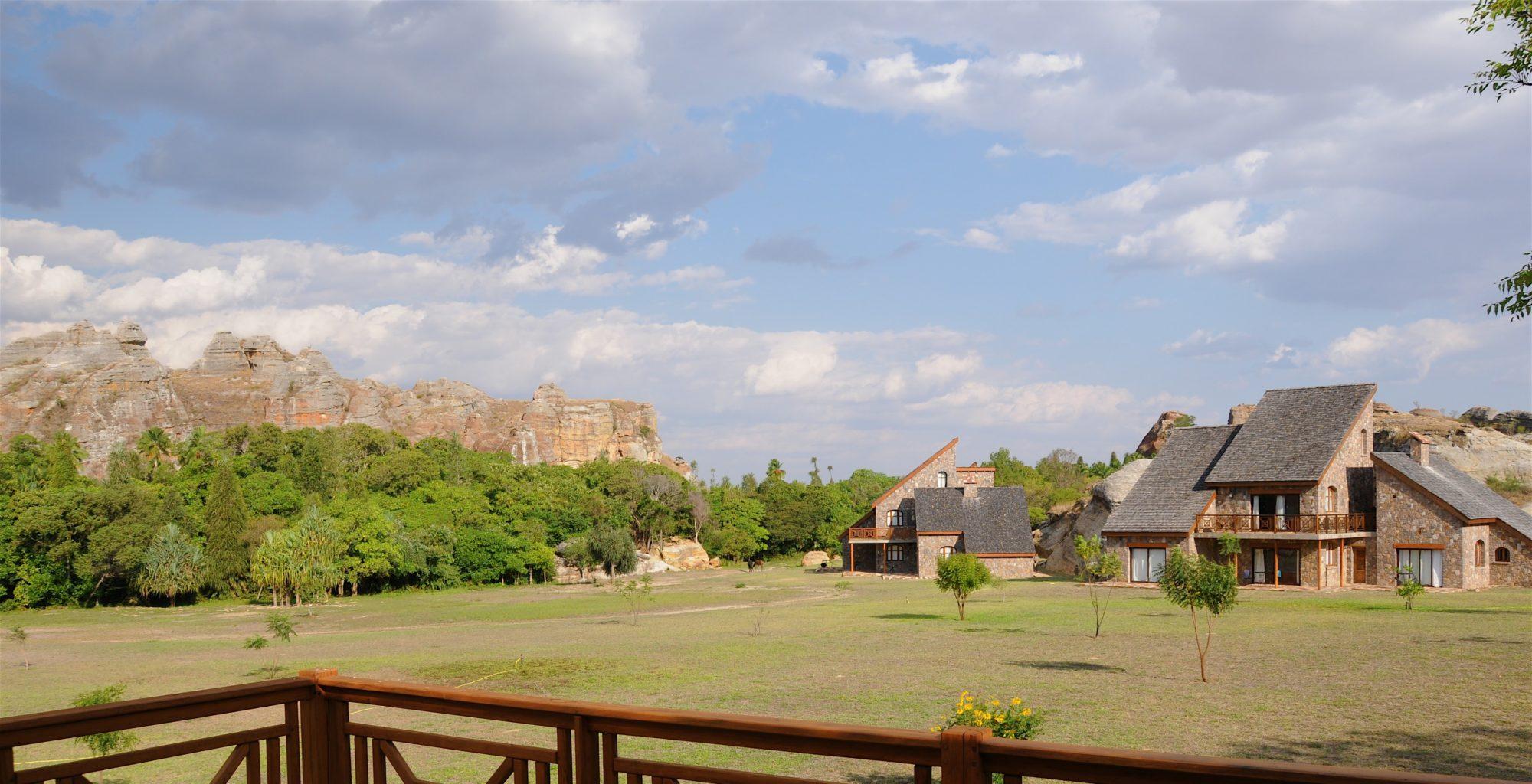 Jardin du Roy Madagascar Central Garden
